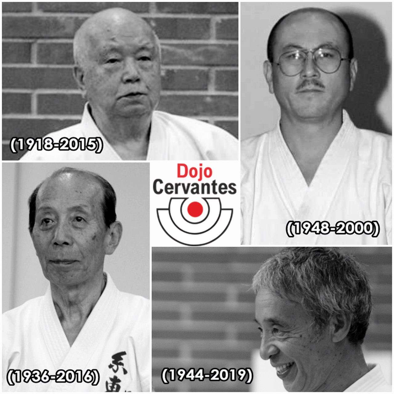 Los referentes de la enseñanza del Dento Shito Ryu Karate-Do